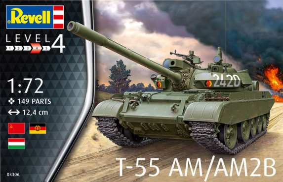 Revell T-55AM/T-55AM2B #REV3306