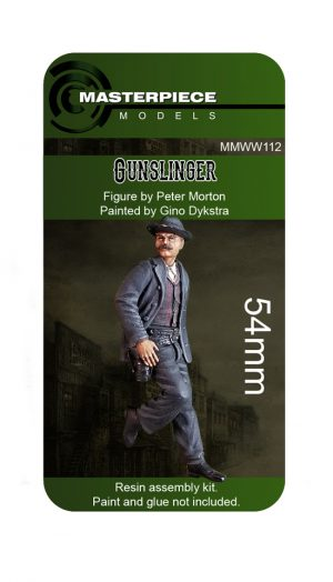Resin Model Kits - Gunslinger 54mm