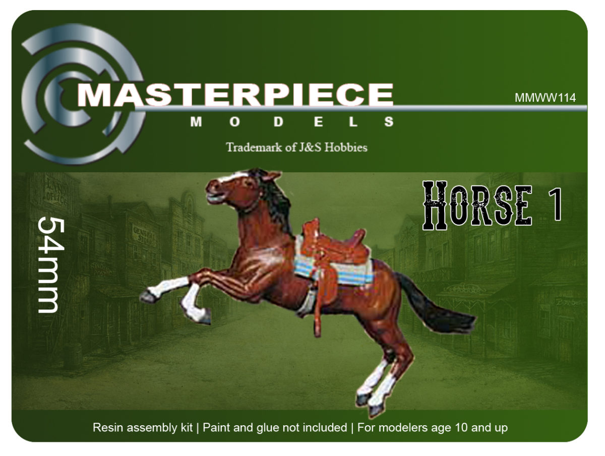 Resin Model Kits - Horse