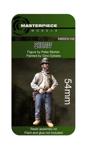 resin model kits sheriff