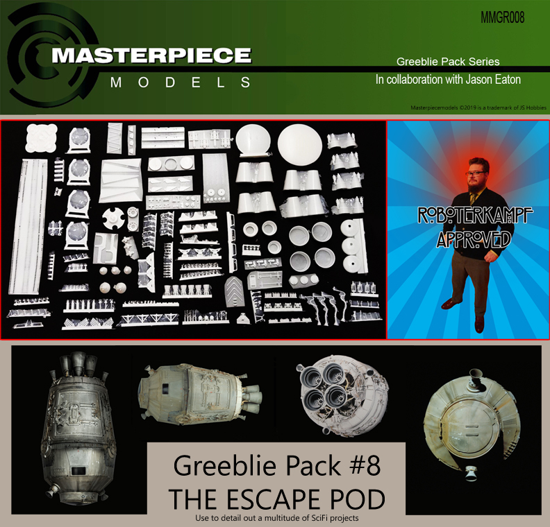 Greeblie Pack 8
