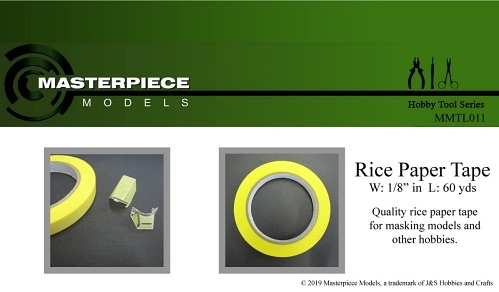 Rice Paper Tape 1/8inch