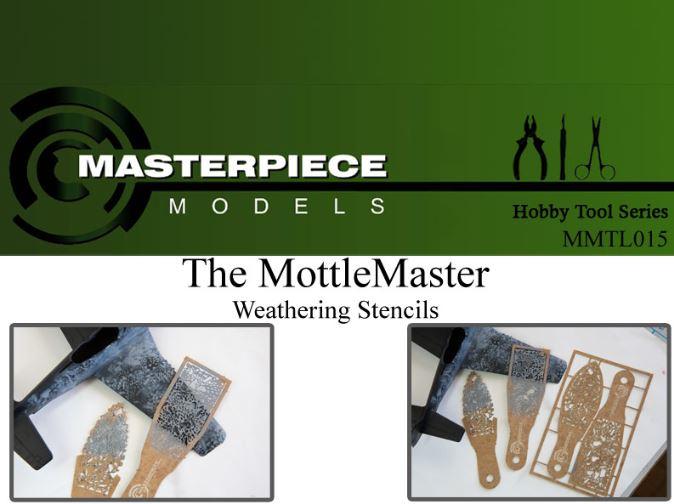 Mottle Master Weathering Stencil