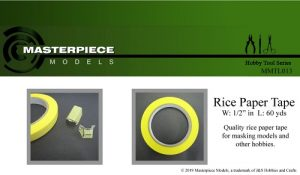 Rice Paper Tape ½""