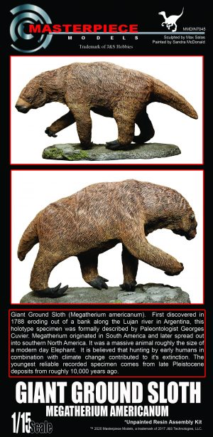 Giant Ground Sloth Megatherium Americanum