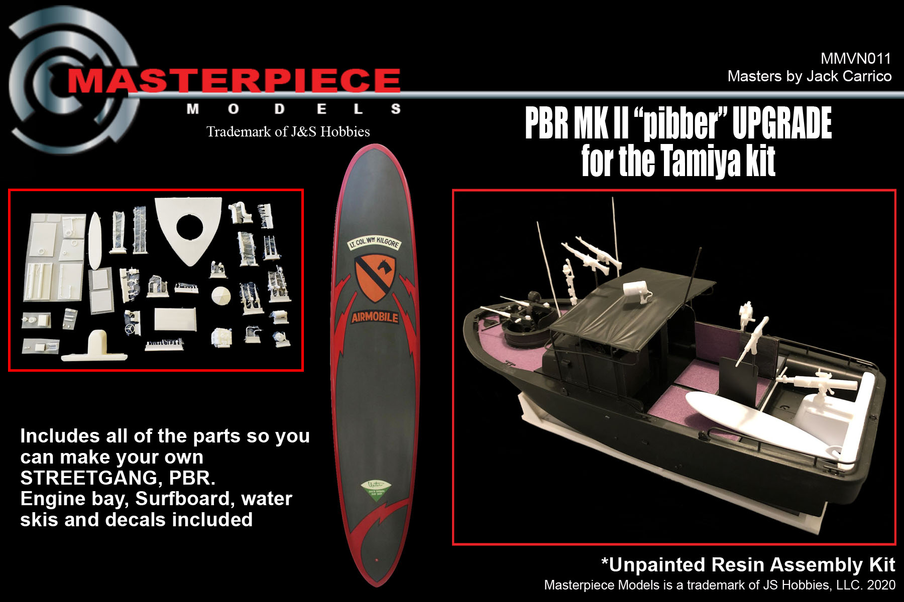 "PBR MK II ""Pibber"" Upgrade for the Tamiya Kit"